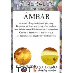 Mineral -*- AMBAR