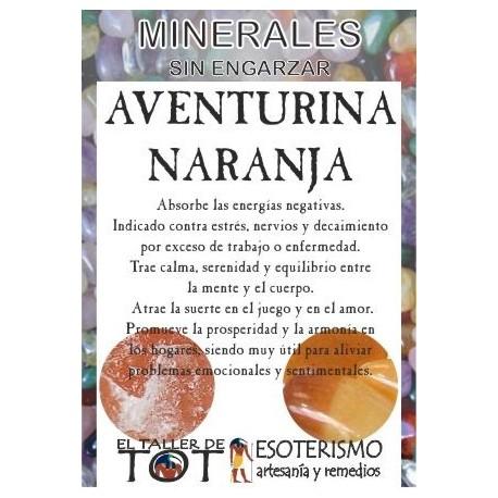 Mineral -*- AVENTURINA NARANJA