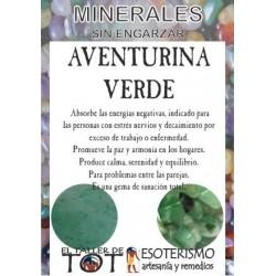 Mineral -*- AVENTURINA VERDE
