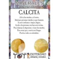 Mineral -*- CALCITA