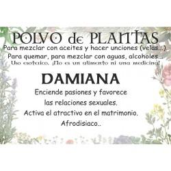 POLVO de plantas - ALBAHACA