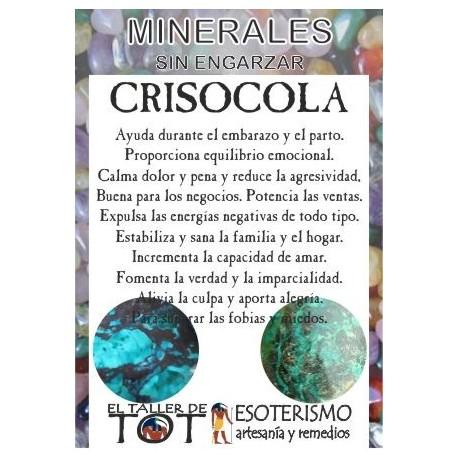 Mineral -*- CRISOCOLA