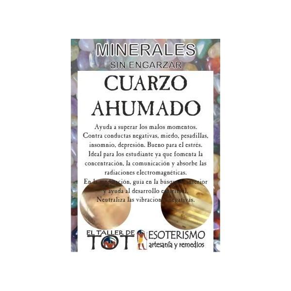Mineral -*- CUARZO AHUMADO