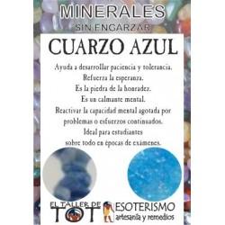 Mineral -*- CUARZO AZUL