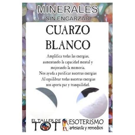 Mineral - CUARZO BLANCO