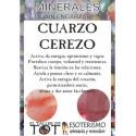 Mineral -*- CUARZO CEREZO
