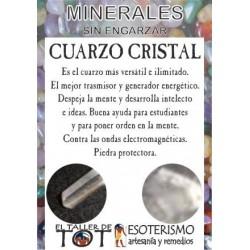 Mineral -*- CUARZO CRISTAL