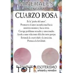 Mineral -*- CUARZO ROSA