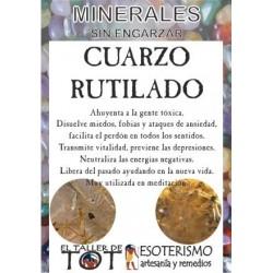 Mineral -*- CUARZO RUTILADO