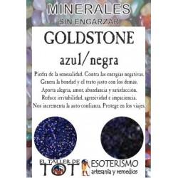 Mineral -*- GOLDSTONE AZUL/NEGRA