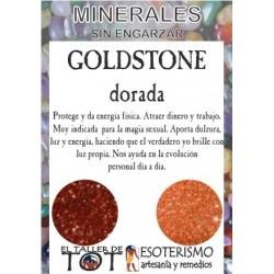 Mineral -*- GOLDSTONE DORADA