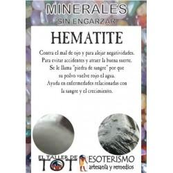 Mineral -*- HEMATITE