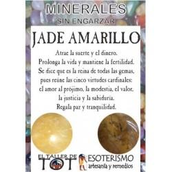 Mineral -*- JADE AMARILLO