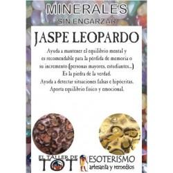 Mineral -*- JASPE LEOPARDO