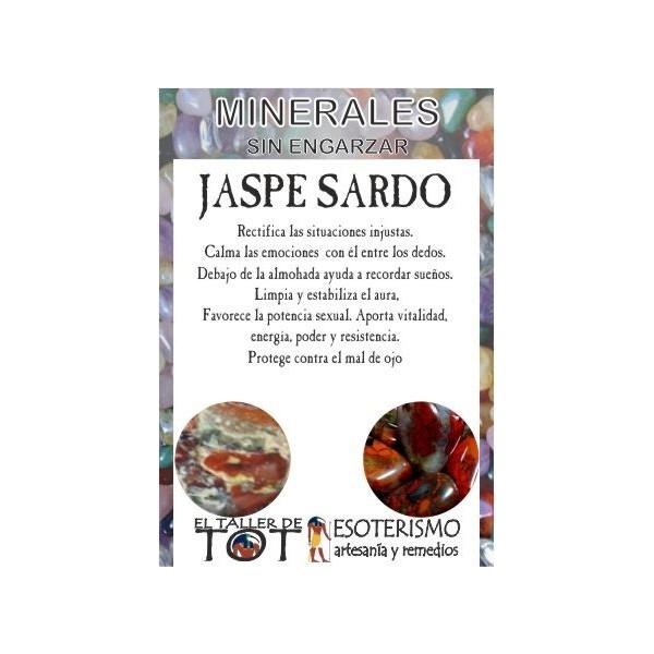 Mineral -*- JASPE SARDO