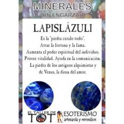 Mineral - LAPISLÁZULI