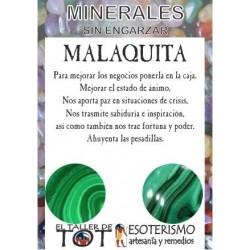 Mineral -*- MALAQUITA