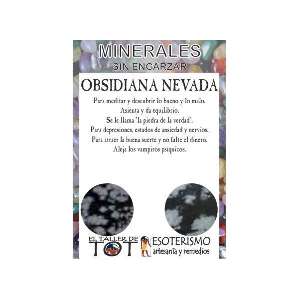 Mineral -*- OBSIDIANA NEVADA