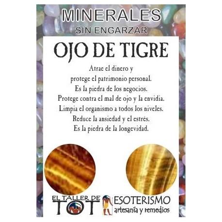 Mineral -*- OJO DE TIGRE