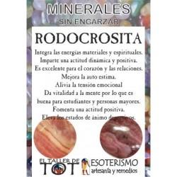 Mineral -*- RODOCROSITA
