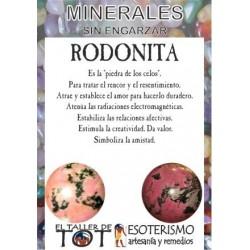 Mineral -*- RODONITA