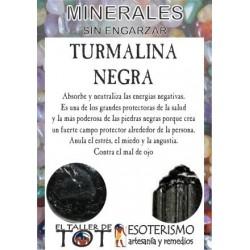 Mineral -*- TURMALINA NEGRA