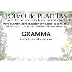 Polvo de Gramma
