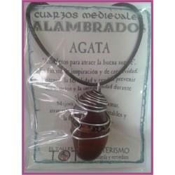 COLGANTE MEDIEVAL ALAMBRADO -*- AGATA