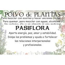 Polvo de Pasiflora