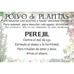 Polvo de Perejil