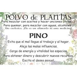 Polvo de Pino