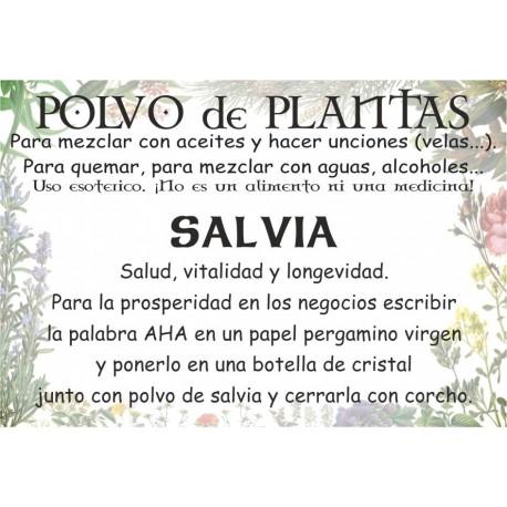 Polvo de Salvia