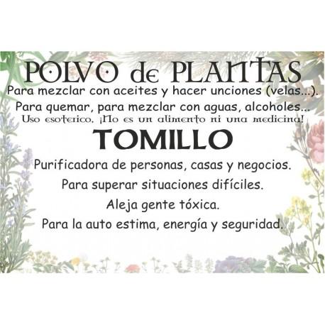 Polvo de Tomillo