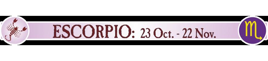 ESCORPIO - 23 OCTUBRE - 22 NOVIEMBRE
