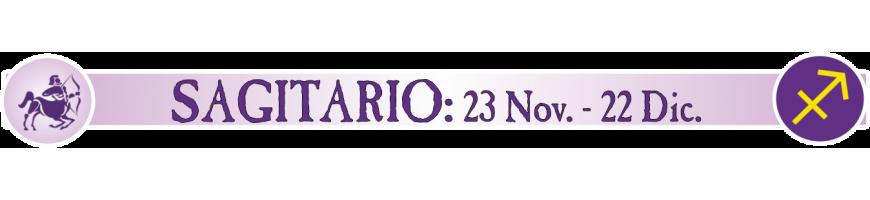 SAGITARIO - 23 NOVIEMBRE - 22 DICIEMBRE