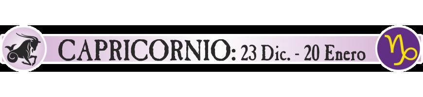 CAPRICORNIO - 23 DICIEMBRE - 20 ENERO